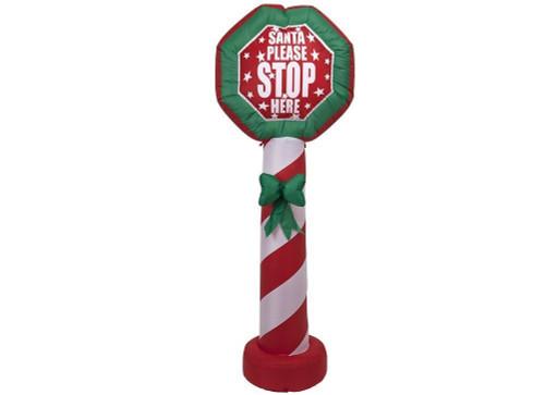 1.8m Santa Stop Here Hire