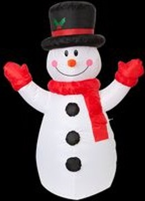 1.2m Inflatable Snowman B Hire
