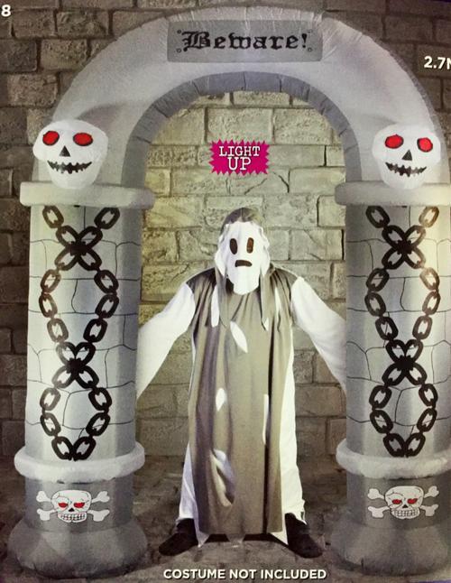 Halloween 2.7m Arch Hire