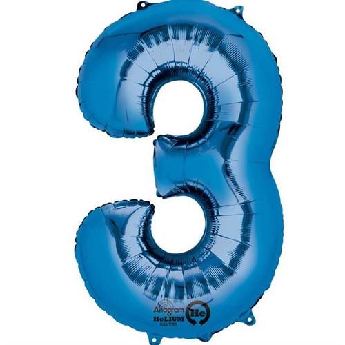 Jumbo Blue Number 3