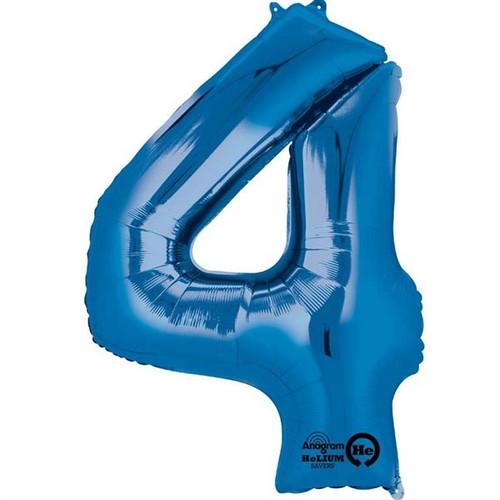 Jumbo Blue Number 4