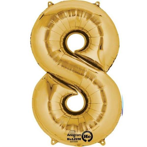 Jumbo Gold Number 8