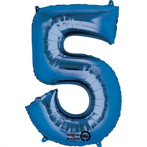 Jumbo Blue Number 5