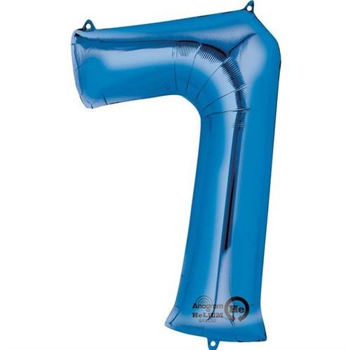 Jumbo Blue Number 7