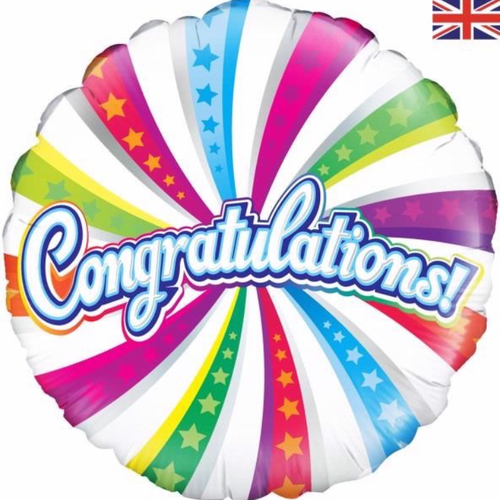 Congratulations 18 Inch Foil Balloon
