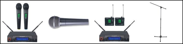 Mics Radio Mics & Stands Hire