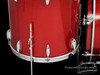 1950s Gretsch Broadkaster 'Name Band' Outfit 3-Ply Drum Kit Red Sparkle