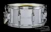 1960s Slingerland Radio King Chrome over Brass Snare Drum : 6.5x14