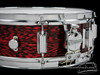 1965 Rogers Powertone Vintage Snare Drum Red Onyx Pearl : 5 x 14