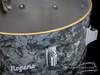 1964 Rogers Holiday Floor Tom Drum Black Diamond Pearl BDP : 16 x 14 **SOLD**