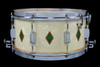 1937 Leedy Broadway Parallel Dual Model Full Dress Snare Drum :  6.5 x 14
