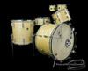 1947 Gretsch Broadkaster White Marine Pearl Outfit  : 24 - 16 - 13 - 14
