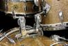 1960s Gretsch Champagne Gold Sparkle Bop Kit :  18 - 12 - 12 - 14 - 14 - 14 **SOLD**