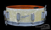 1964 Rogers Dynasonic WMP Vintage Snare Drum White Marine Pearl 5 x 14