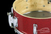 1950s Slingerland Super Gene Krupa Model Radio King Snare Drum Red Sparkle : 5.5 x 14