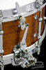 1930s Ludwig 'Super Ludwig' Model Snare Drum Vinage Solid Shell : 5 x 14