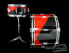 1958 Gretsch Harlequin 'Semi-Pro' Outfit Vintage Drum Kit **SOLD**