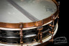 1920s Ludwig DeLuxe Black Beauty 'Scroll Engraved' :  4 x 14