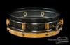 1924-25 Leedy Black Elite Model Snare Drum :  4 x 14