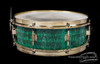 1920s Leedy Jade Green Professional Model Snare  :  5 x 14