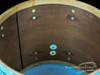 1961 Ludwig Pre-Serial Floor Tom Drum Sky Blue Pearl Keystone : 18 x 20