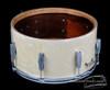 1940s Gretsch Broadkaster Orchestra Model Snare Drum White Marine:  7 x 14