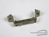1950s 60s Ludwig WFL Snare Drum NICKEL Butt Plate / Strainer Hardware : Lot042