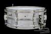 1932-38 Leedy Broadway Parallel Model Snare Drum Brass : 5 x 14