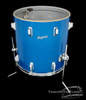 1966 Rogers Holiday 'Swingtime' Model Drum Kit : Blue Sparkle : 20 12 16