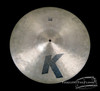 "1982-88 Zildjian EAK 18"" Ride : 'Early American K' Cymbal Crash : 1800g"