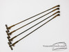 (x4) 1920s / 30s Ludwig Bass Drum Claws / Rods Artgold Hardware : GL02