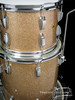 1967 Ludwig Super Classic Drum Kit : Champagne Sparkle : 22 13 16