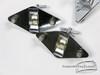 (x3) 1960s Gretsch Diamond Mount Floor Tom Set Round Badge  : Lot067