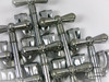 (x8) 1960s Rogers Bass Drum Claws & Rods Holiday Cleveland : Lot067