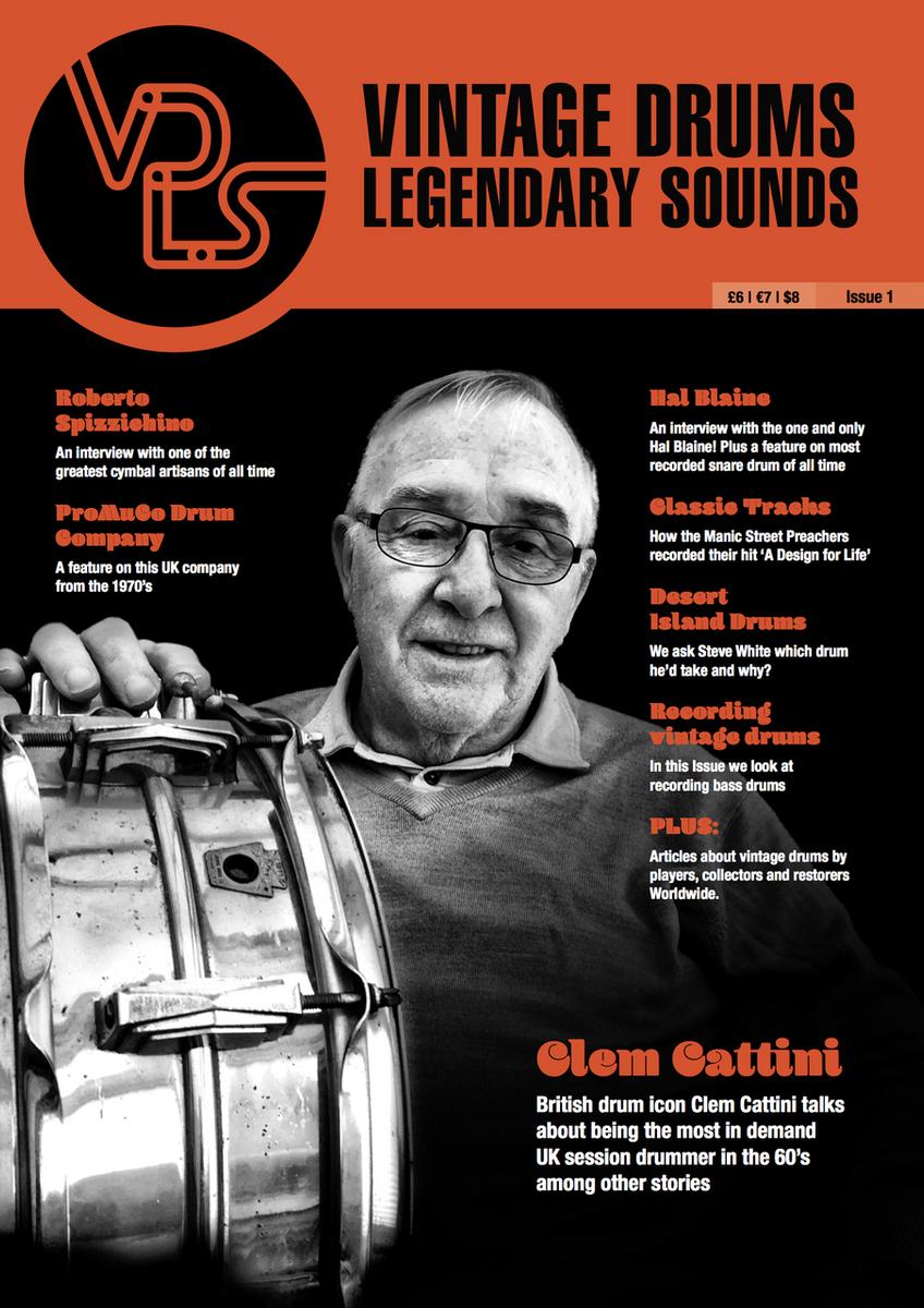 Vintage Drums Legendary Sounds Magazine Volume #2