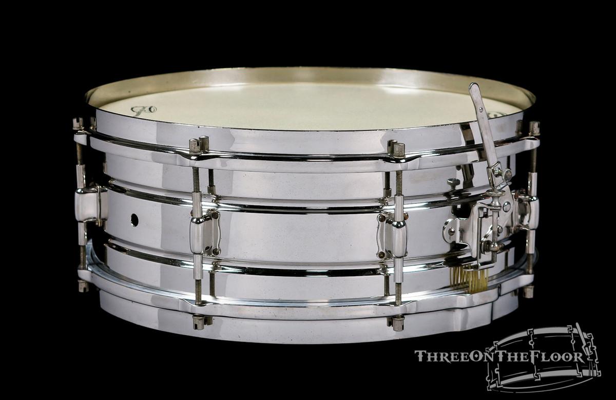 1920s Leedy Professional Model / Elite Vintage Snare Drum : 5 x 14
