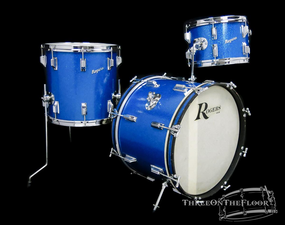 1964 Rogers 'Swingtime Outfit' Vintage Drum Kit Cleveland  : 20-12-14