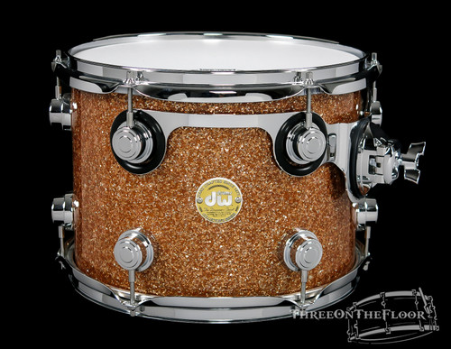 DW Drums Collectors Series 9x12 Rack Tom Champagne Glass 2007 : SOLD