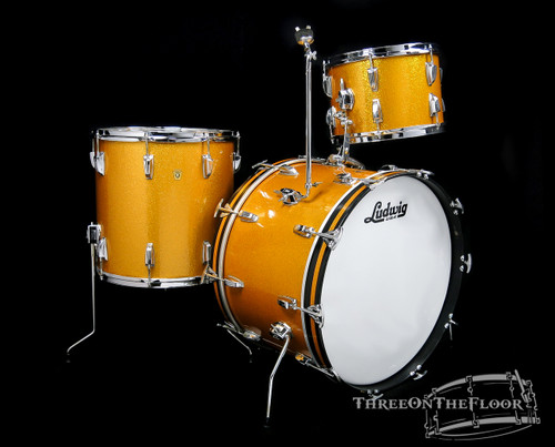 1969 Ludwig Super Classic Gold Sparkle : 22 - 13 - 16 **SOLD**