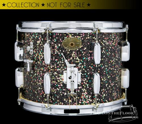 1950s Rogers Yorktown Parade Snare Drum : Mardi Gras :  10 x 14