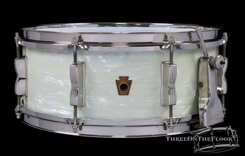 1948-52 WFL Ludwig 'Super Classic' Model Snare Drum WMP  : 5.5 x 14