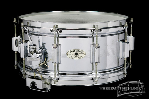 1964 Rogers 7-Line Dynasonic Snare Drum : 6.5 x 14 **SOLD**