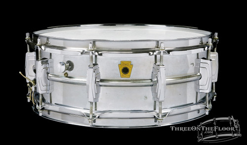 1960-63 Ludwig Brass Supraphonic Vintage Snare Drum :  5 x 14 **SOLD**