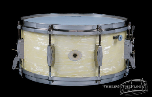 1947 Ludwig & Ludwig Standard Model Snare : 6.5 x 14 **SOLD**