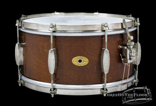 1953-56 Slingerland Radio King Student Snare  :  7 x 14 **SOLD**