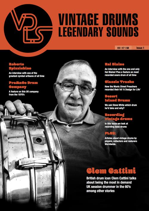 Vintage Drums Legendary Sounds Magazine : Volume #1