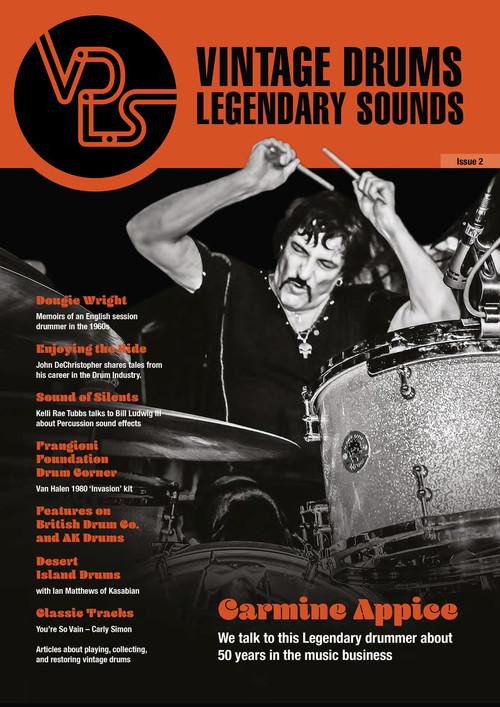 Vintage Drums Legendary Sounds Magazine : Volume #2
