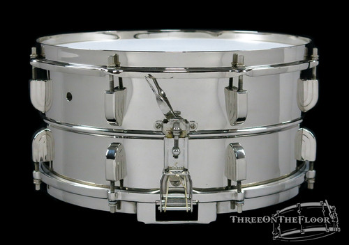 1940s-50s Leedy 'Broadway' Standard Model Vintage Snare Drum : 6.5 x 14