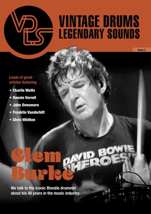 Vintage Drums Legendary Sounds Magazine : Volume #3