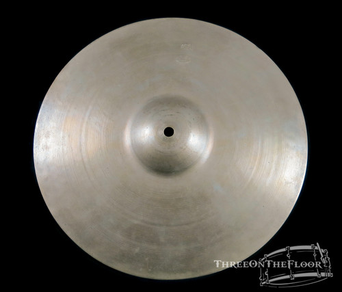 "1920s-30s Zildjian First Stamp Avedis 13"" Splash Cymbal Hat : 440 grams"